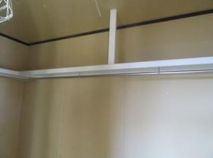 2015.12.24 ①クローゼット枕棚設置