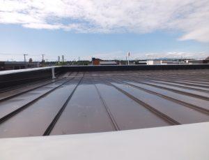 2016.6.27屋根を葺きました2