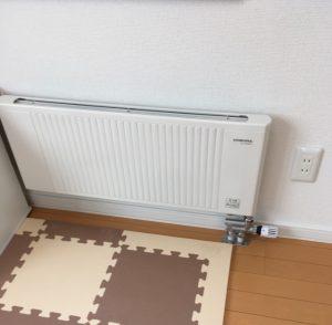 2017.1.27洋室暖房