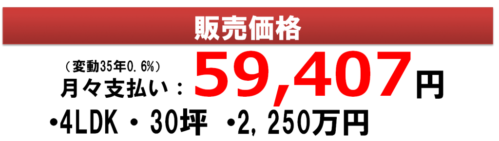 販売価格(8条西)